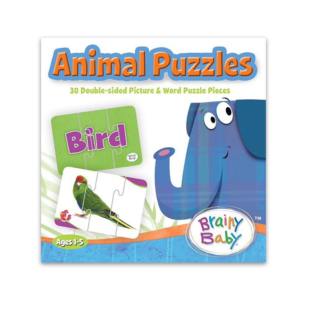 Brainy Baby® Animal Puzzles