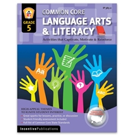 Language Arts and Literacy Grade 5 cover