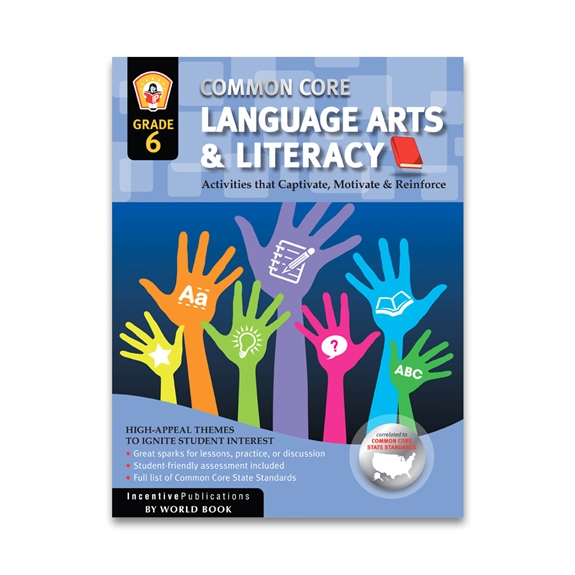 Language Arts and Literacy Grade 6 cover