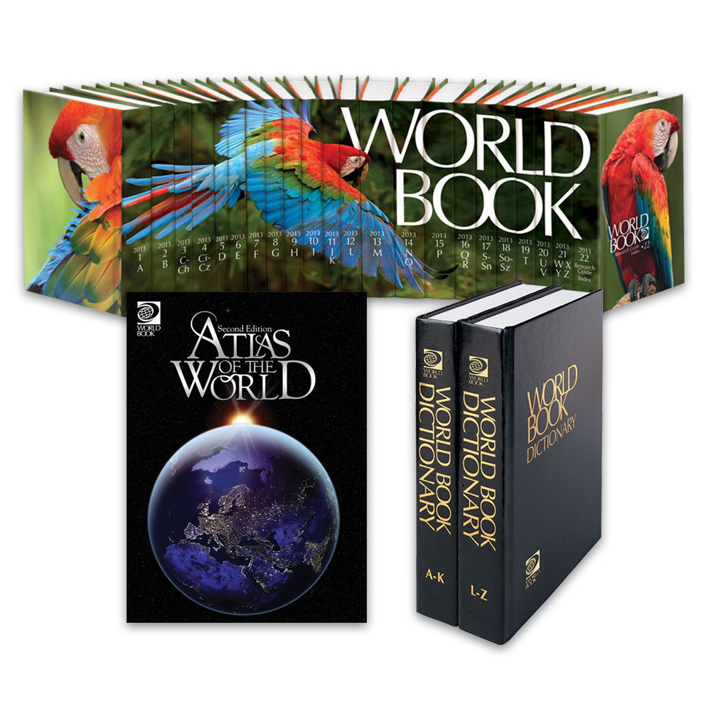 Encyclopedia Book 2013, World Atlas & English Dictionary | World ...