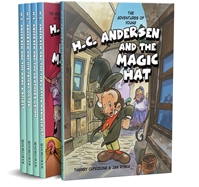 The Adventures of Young H.C. Andersen fairy tale, adventures, comics