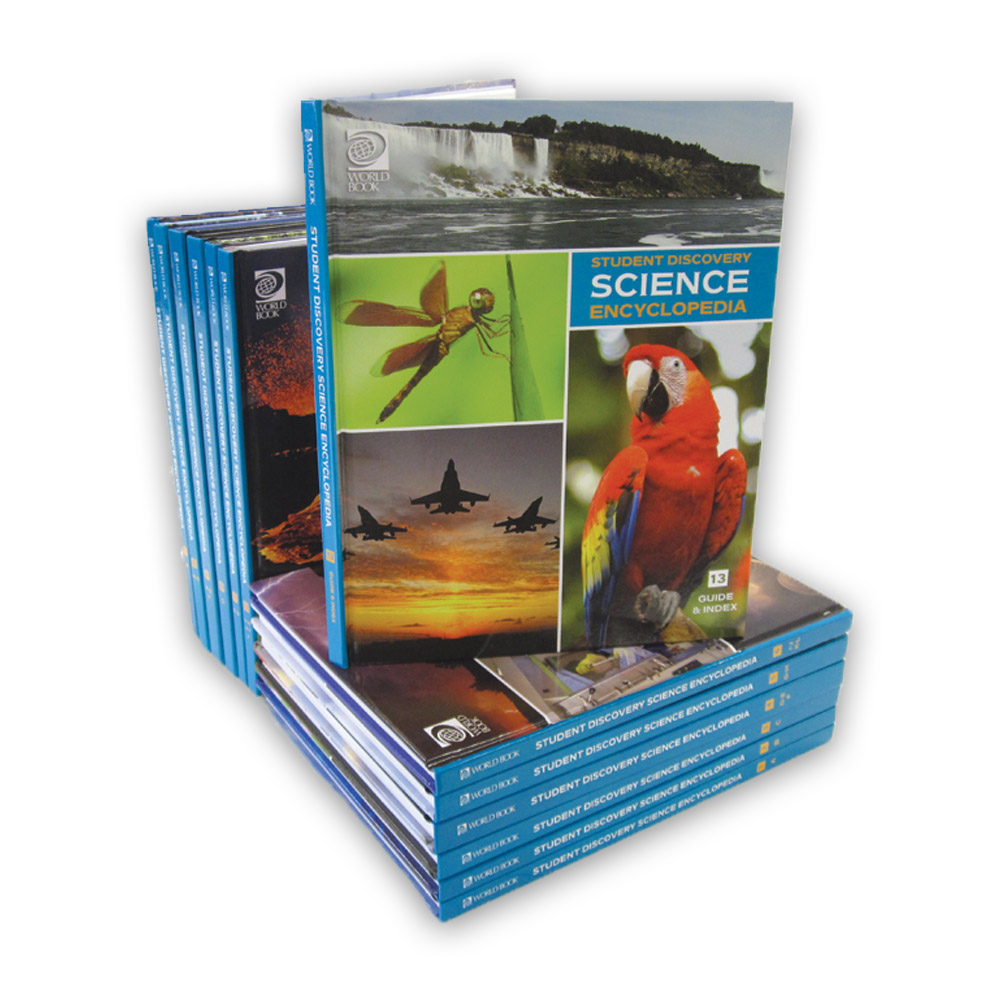 World book encyclopedia of science 6 book set